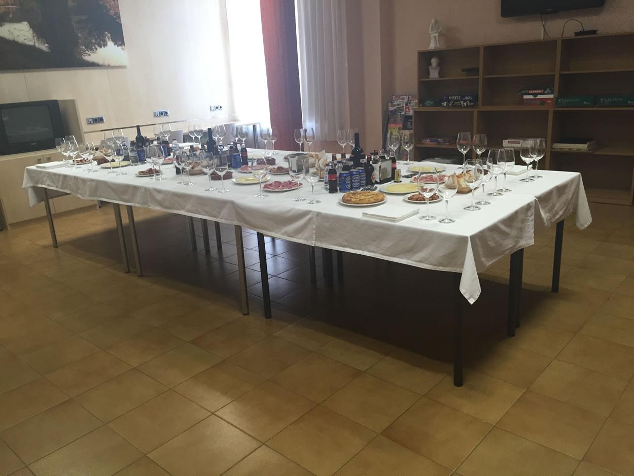 Vino español para homenajear a los jubilados del 2015
