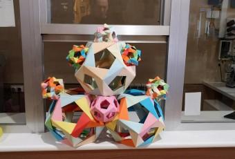 Olimpiada matemática: origami